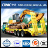 Cimc 65 Ton Low Bed Semi Trailer