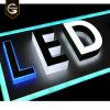 3D Stainless Steel Backlit or Edgelit LED Light Channel Letters Sign for Super Market Shop Advertising Display