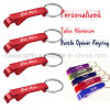 Wholesale Aluminum Bottle Opener with Keyring for Promotional Gifts