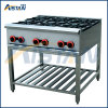 Gh6a Gas Range with Burner for Restaurant Use