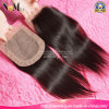 Facebeauty Hair Lace Closure Wholesale 3.5X4 Middle Part Cheap Lace Closure Stock Straight Brazilian Virgin Human Hair Silk Base Closures Pieces