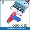 Two Ports Plastic 8GB OTG USB Flash Drive for Smart Phone (KW-0143)