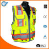 Class 2 Heavy Woven Two Tone Engineer High Visibility Vest