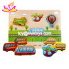 New Hottest 3D Children Wooden Car Jigsaw Puzzles with Customize W14D034