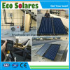 Black Chrome Coating Flat Plate Solar Collector for Project