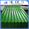 Trapezoid Prepainted Corrugated Metal Color Coated Roofing Sheet