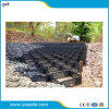 Smooth Surface Perforated HDPE Geocells for Slope Solidafication