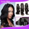 100% Human Peruvian Virgin Hair Natural Wave Hair Bundles Wholesale