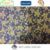 Polyester 190t Taffeta 72G/M Print Lining for Jacket Coat
