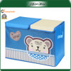 Customized Logo Printed Blue 600d Portable Storage Box