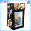 Mini Countertop Display Beverage Ice Cream Showcase Gelato Freezer Appliance