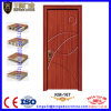 PVC Coated Wood Door Leaf with WPC Frame