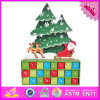 2016 Wholesale Wooden Advent Calendar, Cartoon Wooden Advent Calendar, Decorative Wooden Advent Calendar W02A172