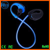 Fashion Fitness Running Stereo Suitable Lightweight Ear Hook Factory Price Smartphone Bluetooth LED Light Earphone
