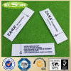 White Fabric Anti Theft Security Sourcing Clothing Label (AJ-la-05)