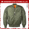 Ma-1 Quilted Bomber Flight Jacket with Zippers
