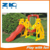 Indoor Rabbit Children Plastic Slide and Swing for Kindergarten