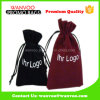 High Quality Custom Printed Simple Drawstring Velvet Watches Phone Bags