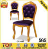 Classy Wooden Look Comfortable Stacking Restaurant Dining Chairs