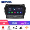 Witson Quad-Core Android 9.0 Car DVD GPS for Hyundai IX45 External Microphone Included, Built-in TPMS Function