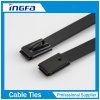 Free Sample Self-Locking Stainless Steel Cable Ties with Coating 7.9X800mm