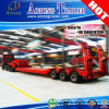 Heavy Duty Axis Lines Low Bed Trailer with Dolly