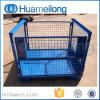Heavy Duty Warehouse Folding Storage Mesh Stillage for Auto Industry