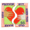 Valentine Design OEM Embroidery Patch Shoulder Patch
