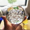 The New Popular Beautiful Colorful 3D Crystal Ball with Bubbles Inside
