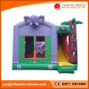 2018 Inflatable Jumping Moonwalk Elephant Bouncer with Slide (T3-095)