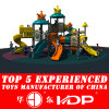 2014 New Cheap Plastic Playground Slides (HD14-044A)