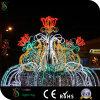 New Design LED Street Motif Fountains Christmas Motif Light
