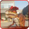 Silicon Rubber Costume for Adult Robotic Dinosaur Costume