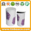 Round Tin Box with Food Grade, Metal Tin Can