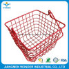 Glossy Ral 3020 Red Color Epoxy Powder Coating Indoor Basket