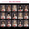 Wig for Sex Doll, Hair for Silicone Real Doll Fit for 100cm -165cm Love Doll