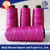 100% Polyester 75D/72f Space Dyed Yarn for Flyknit