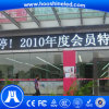 Low Consumption Outdoor Single White Color P10 DIP Electronic Sign