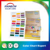 Emulsion Coating Color Chart Card in Double Sides