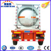 Three Axles 24000L Semitrailer Oil Tank Container