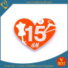 Custom Heart Synthetic Enamel Badge for Souvenir