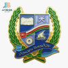 Wholesale Factory Price Gold Paint Oman Souvenir Custom Magnetic Badge Pins