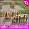 2015 Mini Wooden Puppet Doll Toy, Wooden Cute Doll for Kids Wholesale, Fashion Hand Wood Puppet Toy Doll for Children Toys W06D067