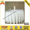 White Polyester Wedding Banquet Table Cloth