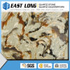 Popular Artificial Quartz Color Factory Brown Stone Quartz Countertops