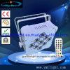 9PCS 18W 6in1 LED PAR Light Rechargeable Battery and Wireless DMX Flat Freedom PAR Light Uplight