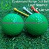Short Flight Distance Customized Low Bounce Driving Range Golf Ball