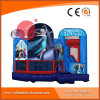 Inflatable Frozen Jumping 5-in-1 Combo Bouncy Castle for Kids (T3-902)