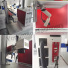 CNC Automatic Pneumatic 3D Nameplate Engraving Machine Fiber Laser Marking Machine