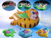 Water Amusement Park Inflatable Battery Powerd Boat for Kids Game Toy (FLBB)